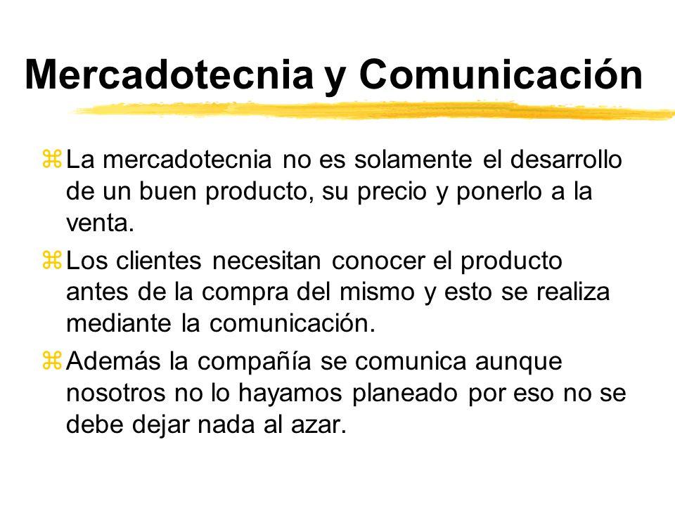 Mercadotecnia y Comunicación