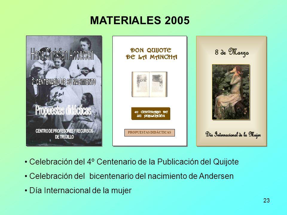 4º CENTENARIO DE SU PUBLICACIÓN PROPUESTAS DIDÁCTICAS