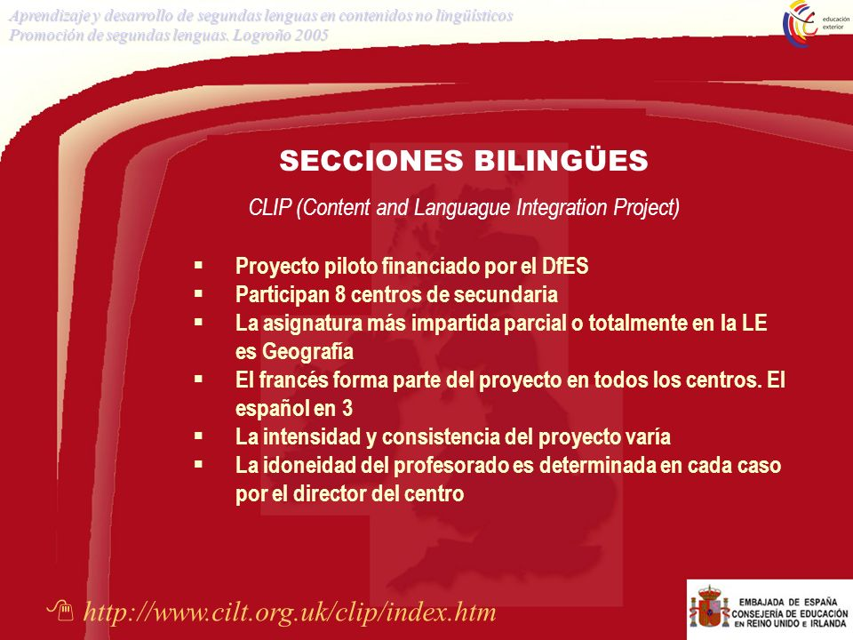 CLIP (Content and Languague Integration Project)