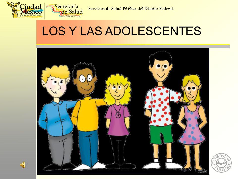 LOS Y LAS ADOLESCENTES
