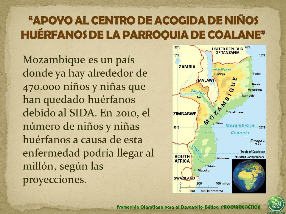 APOYO AL CENTRO DE ACOGIDA DE NIÑOS HUÉRFANOS DE LA PARROQUIA DE COALANE