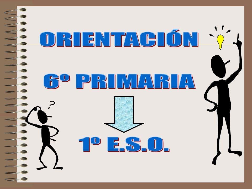ORIENTACIÓN 6º PRIMARIA 1º E.S.O.