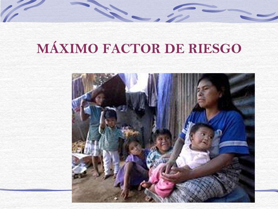 MÁXIMO FACTOR DE RIESGO