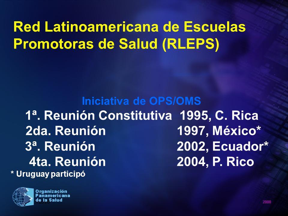 Red Latinoamericana de Escuelas Promotoras de Salud (RLEPS)