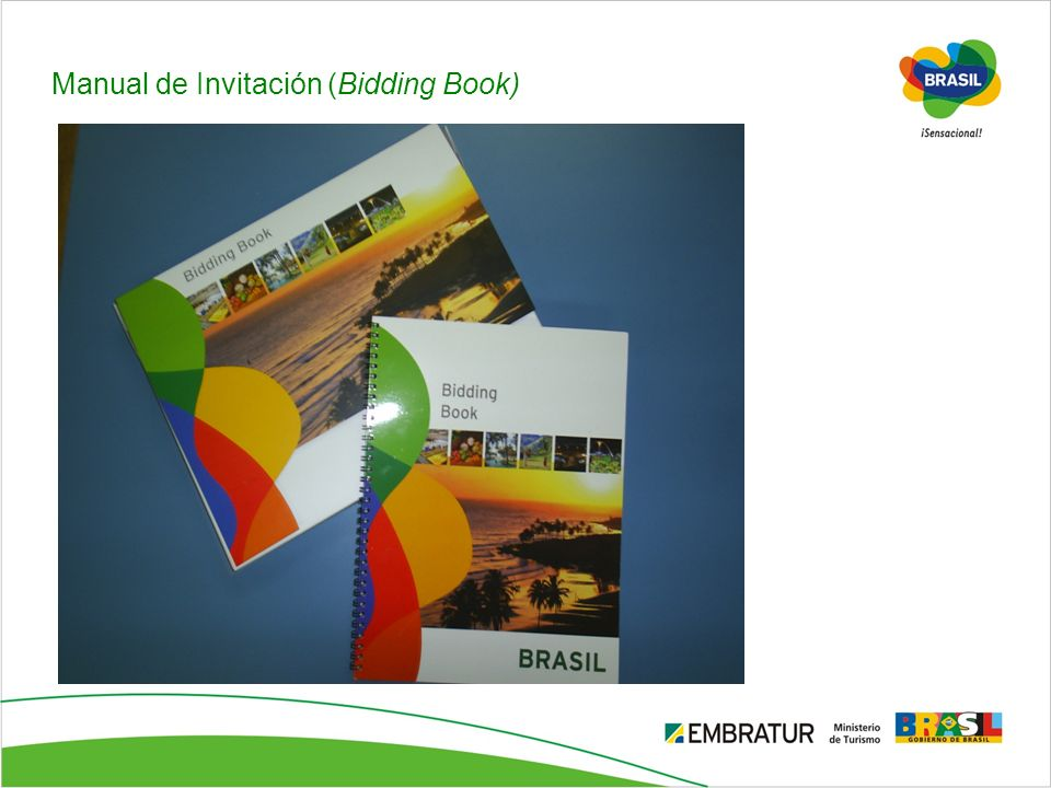 Manual de Invitación (Bidding Book)‏