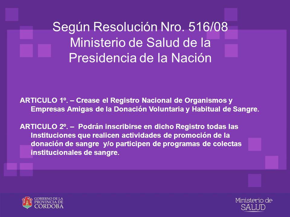 Ministerio de Salud de la Presidencia de la Nación