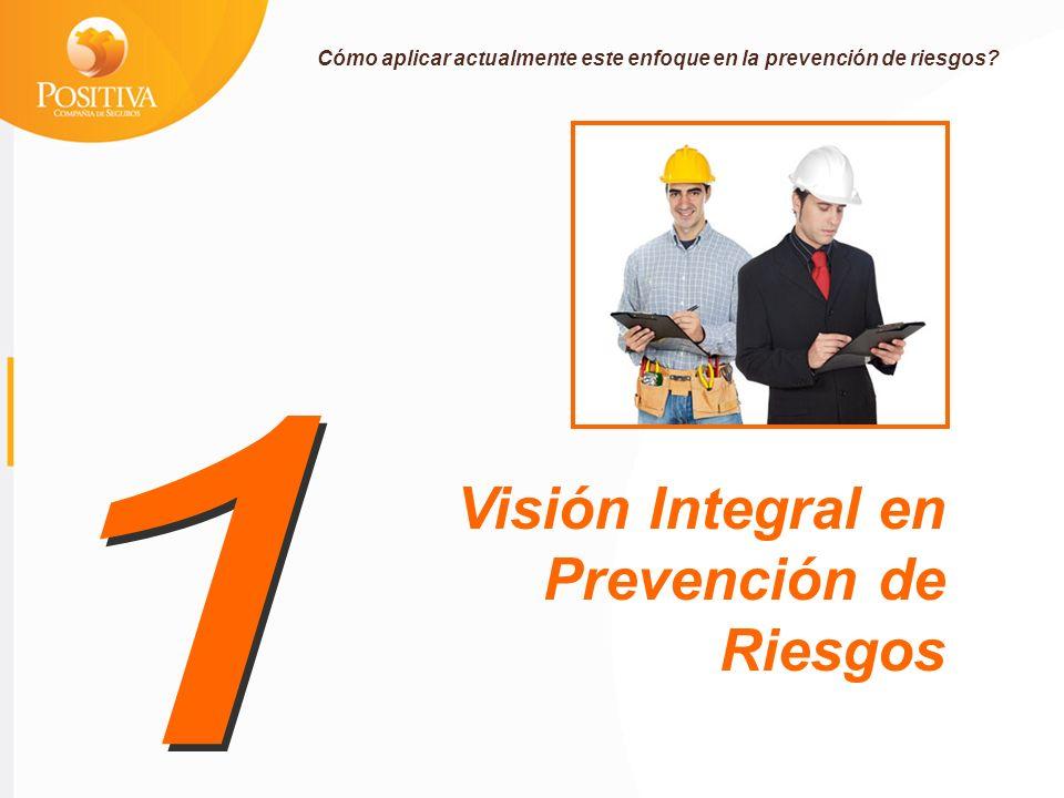 1 Visión Integral en Prevención de Riesgos