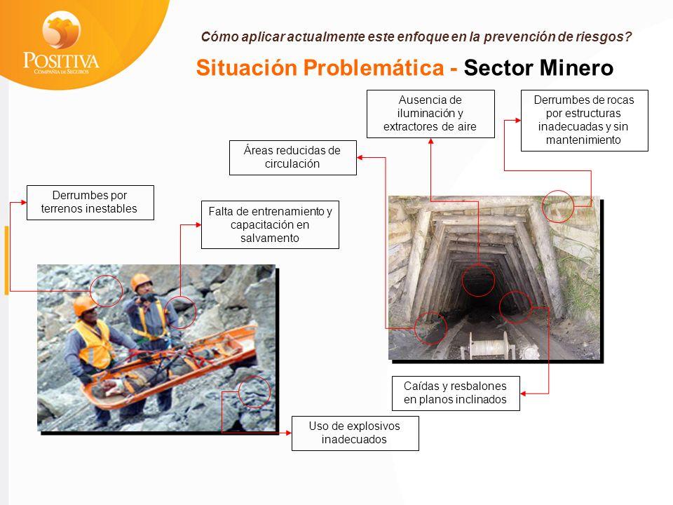 Situación Problemática - Sector Minero