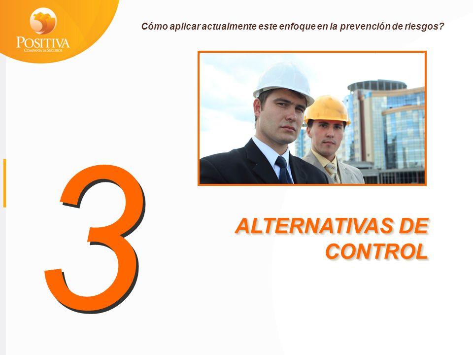 3 ALTERNATIVAS DE CONTROL