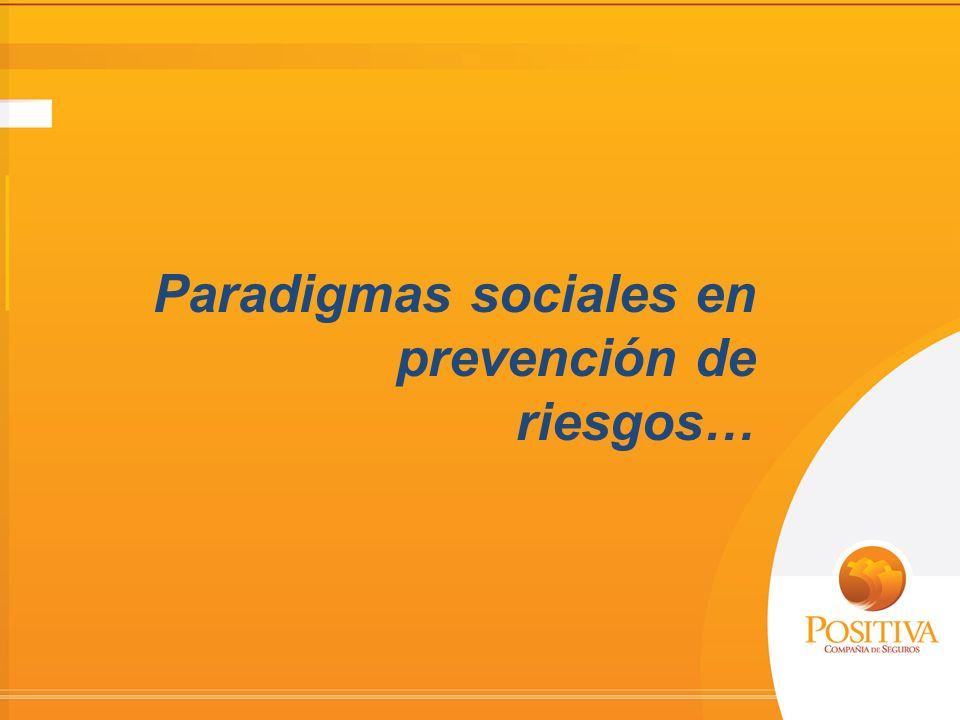 Paradigmas sociales en prevención de riesgos…