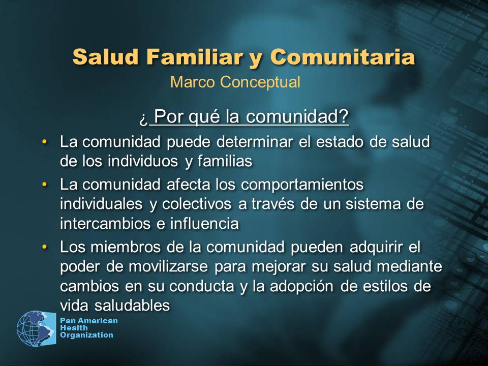 Salud Familiar y Comunitaria