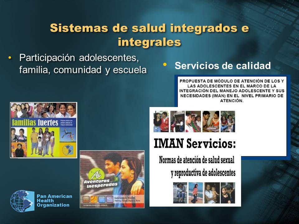 Sistemas de salud integrados e integrales
