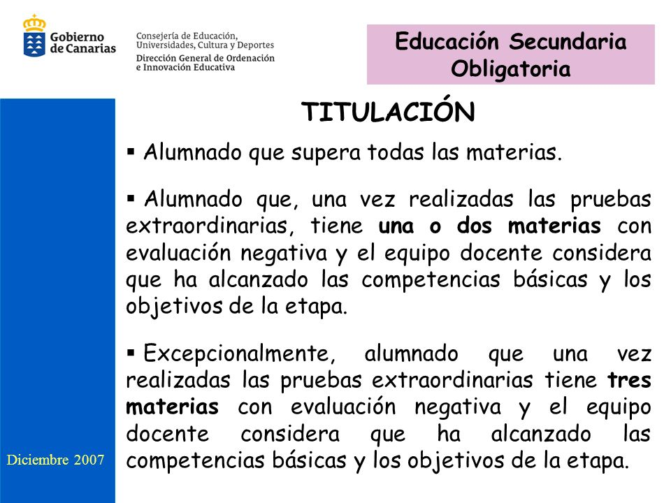 Educación Secundaria Obligatoria