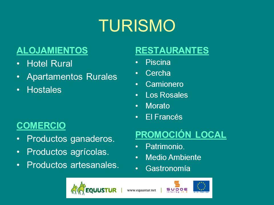 TURISMO ALOJAMIENTOS Hotel Rural Apartamentos Rurales Hostales