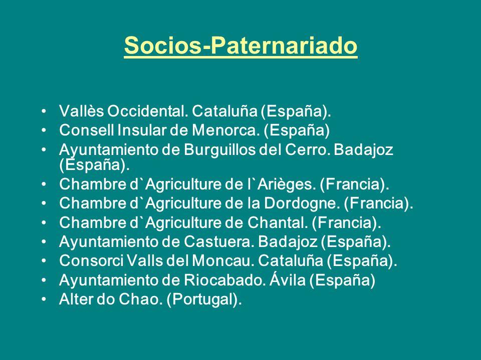 Socios-Paternariado Vallès Occidental. Cataluña (España).
