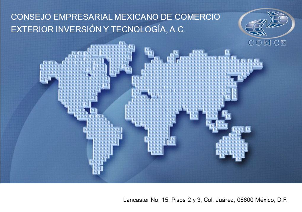CONSEJO EMPRESARIAL MEXICANO DE COMERCIO
