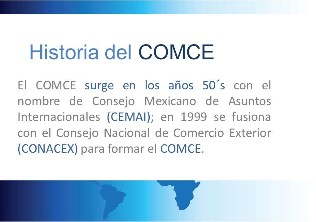 Historia del COMCE