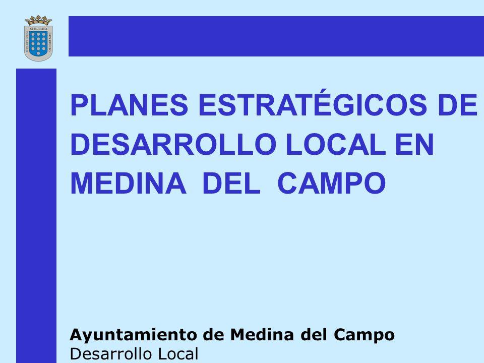 PLANES ESTRATÉGICOS DE DESARROLLO LOCAL EN MEDINA DEL CAMPO