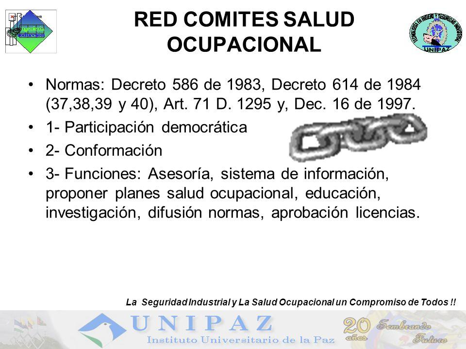 RED COMITES SALUD OCUPACIONAL