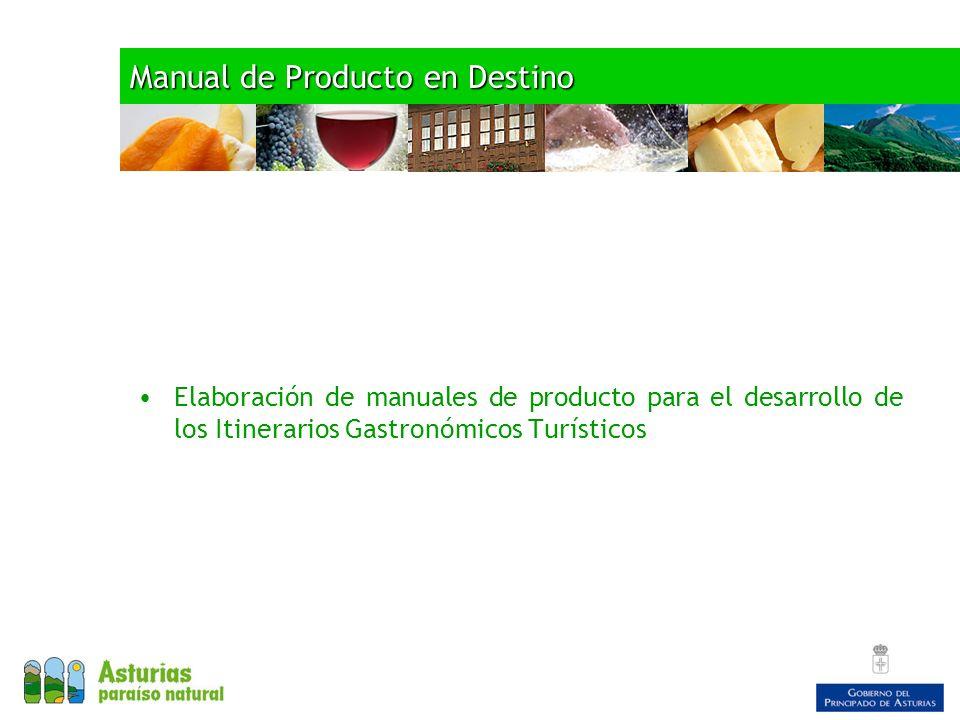 Manual de Producto en Destino