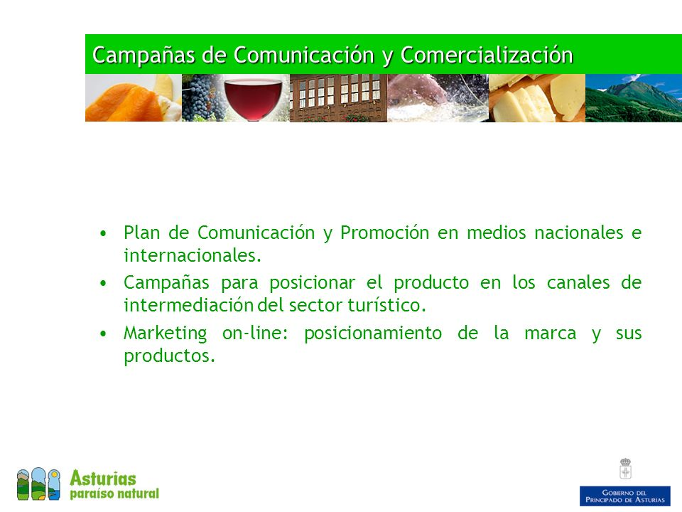 Campañas de Comunicación y Comercialización