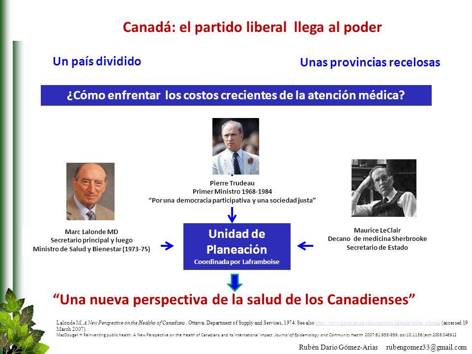 Canadá: el partido liberal llega al poder