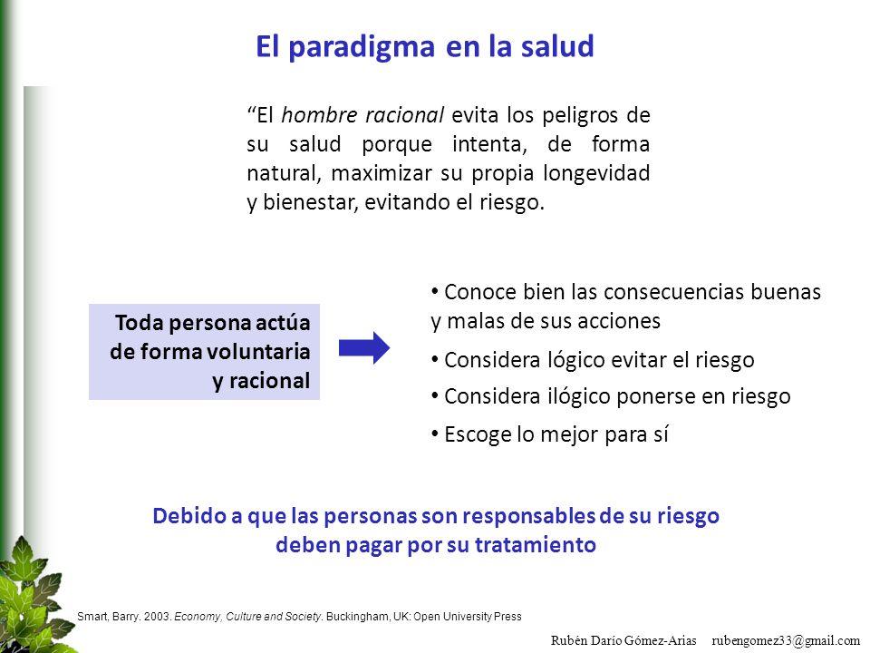 El paradigma en la salud