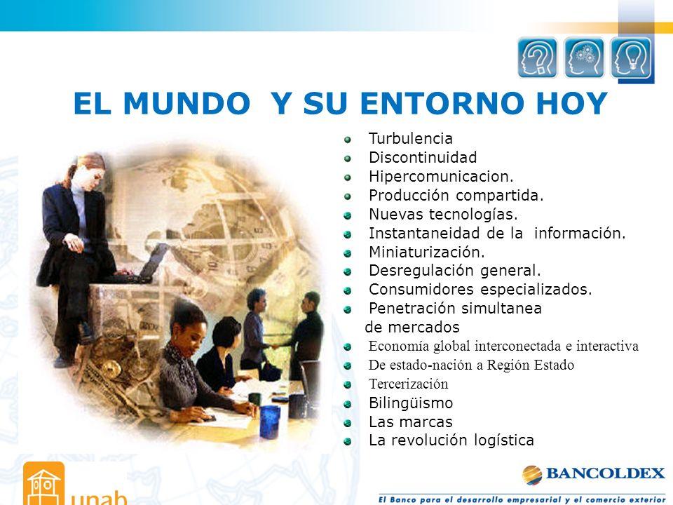EL MUNDO Y SU ENTORNO HOY