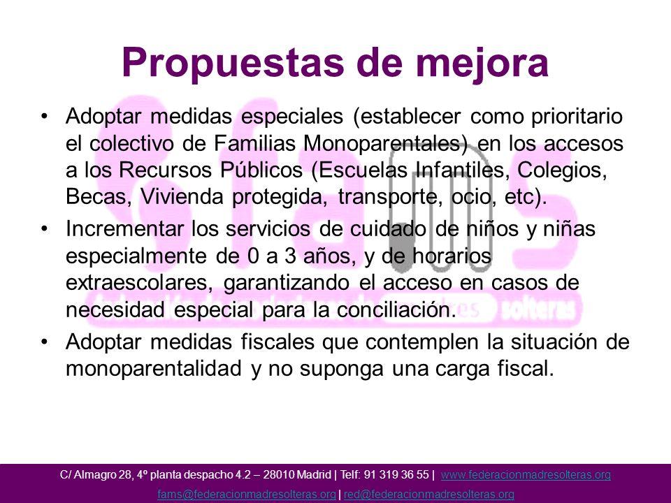 fams@federacionmadresolteras.org | red@federacionmadresolteras.org