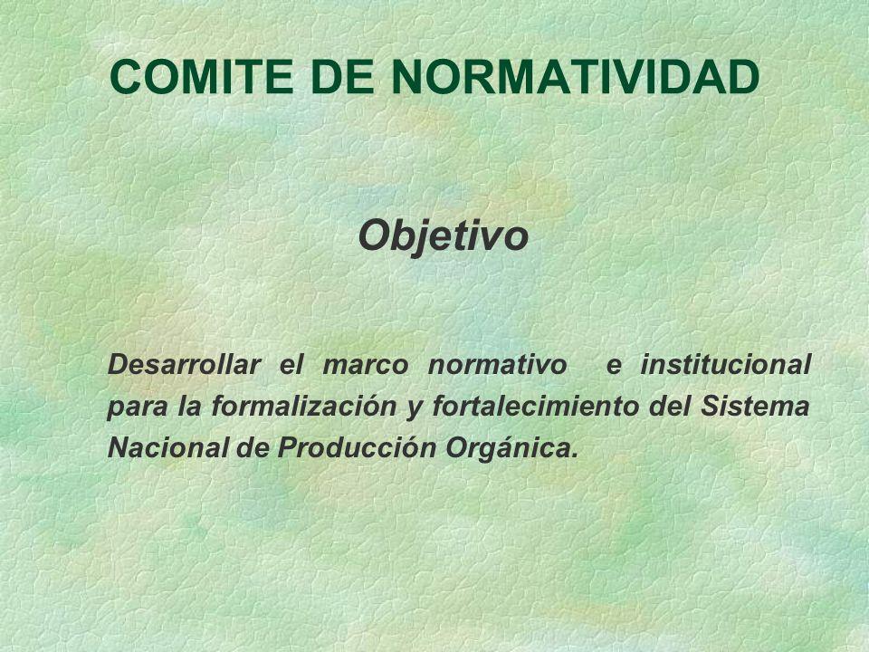 COMITE DE NORMATIVIDAD