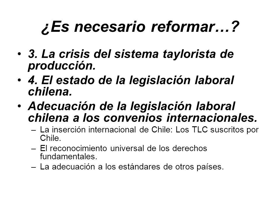 ¿Es necesario reformar…
