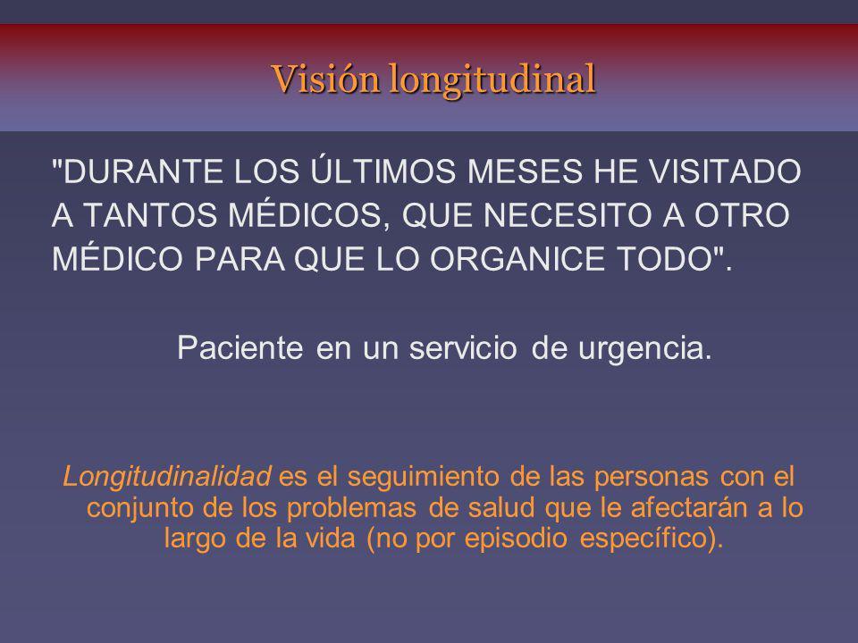 Paciente en un servicio de urgencia.