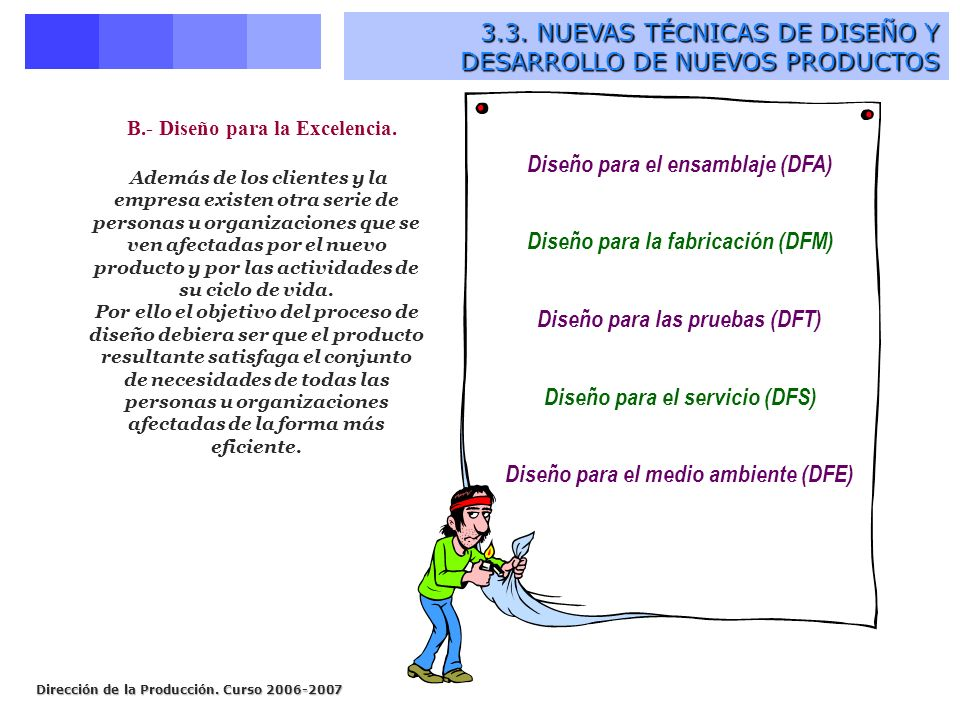 3.3. NUEVAS TÉCNICAS DE DISEÑO Y DESARROLLO DE NUEVOS PRODUCTOS