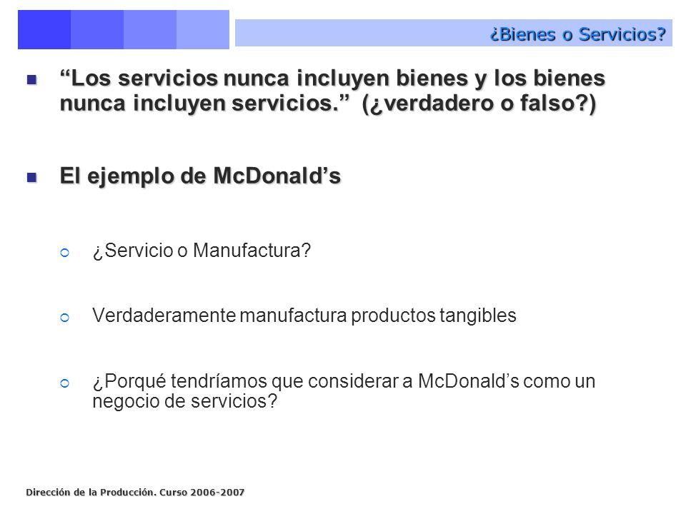 El ejemplo de McDonald's