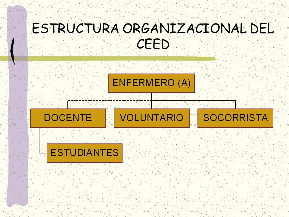 ESTRUCTURA ORGANIZACIONAL DEL CEED