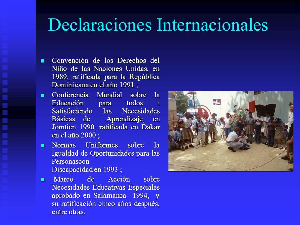 Declaraciones Internacionales