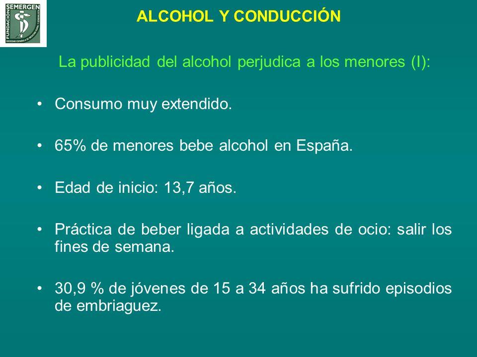 La publicidad del alcohol perjudica a los menores (I):