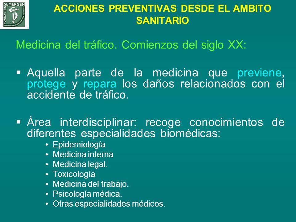 ACCIONES PREVENTIVAS DESDE EL AMBITO SANITARIO