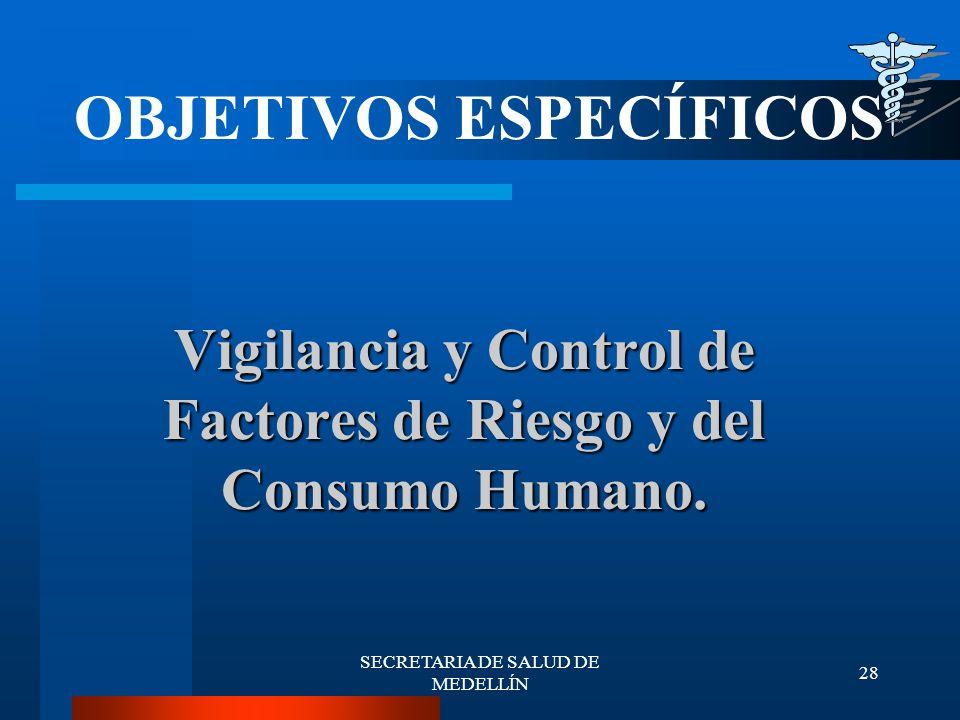 Vigilancia y Control de Factores de Riesgo y del Consumo Humano.