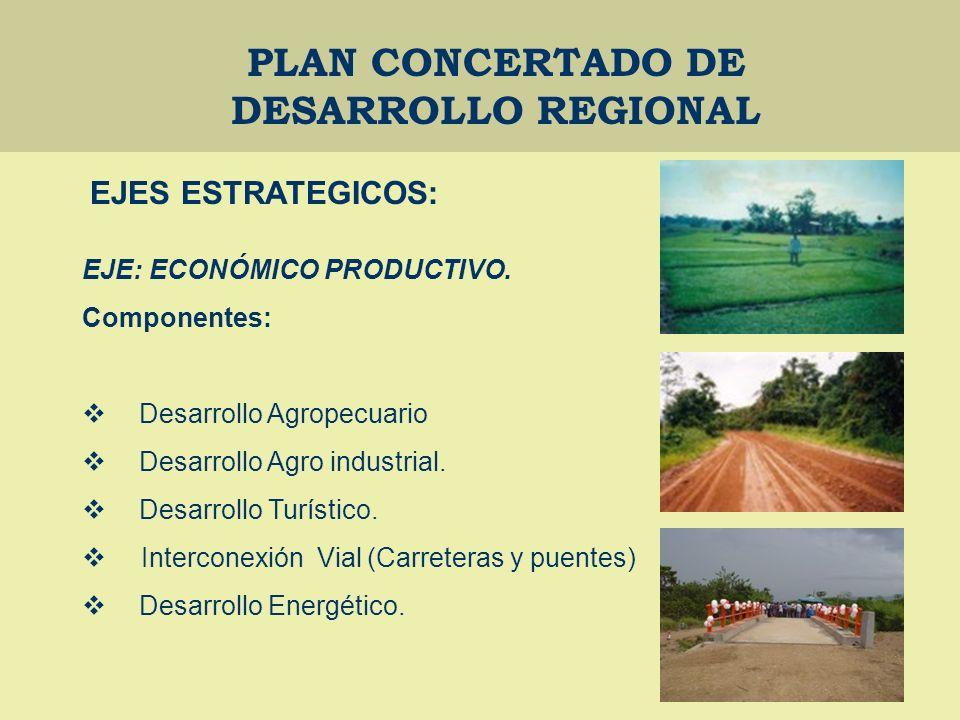PLAN CONCERTADO DE DESARROLLO REGIONAL