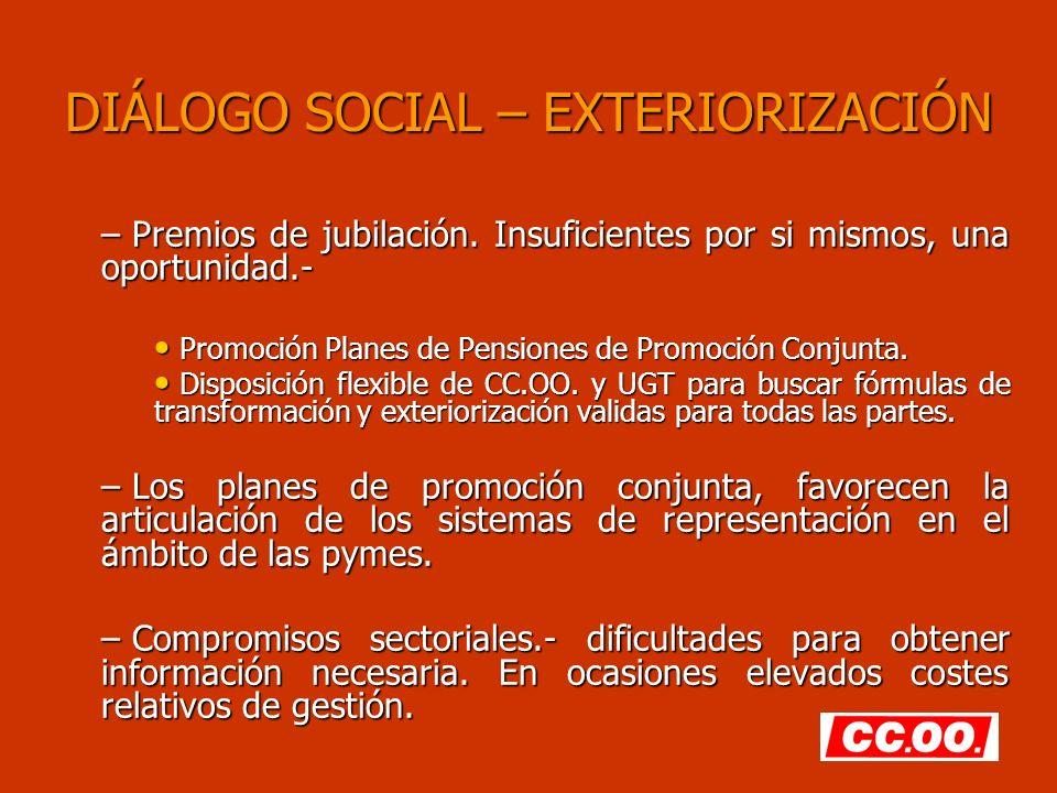 DIÁLOGO SOCIAL – EXTERIORIZACIÓN