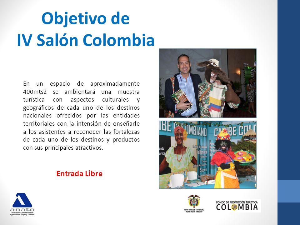 Objetivo de IV Salón Colombia