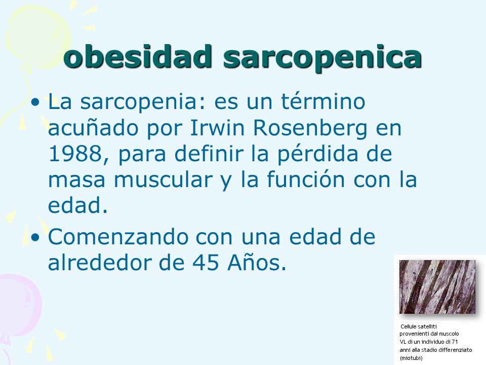 obesidad sarcopenica