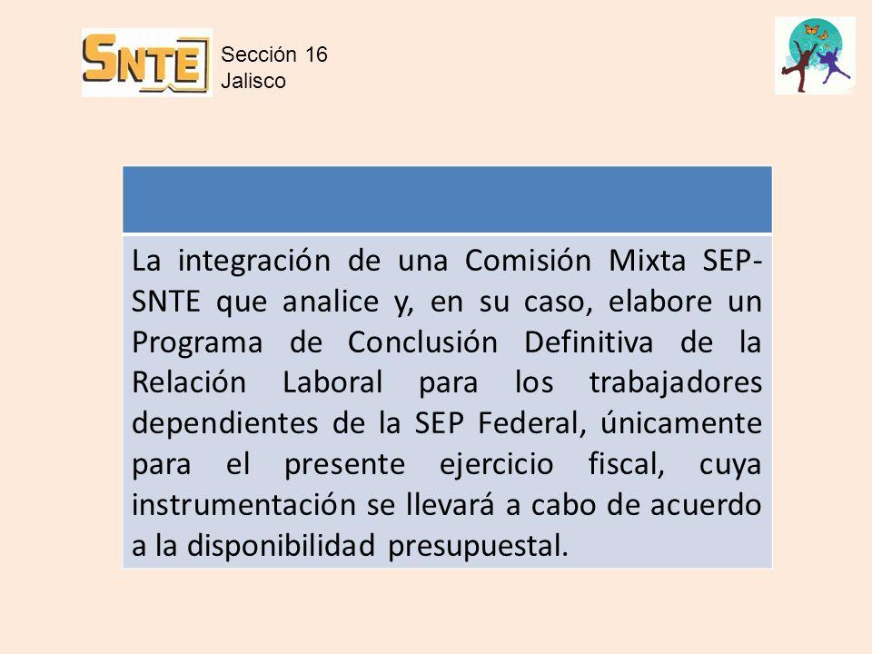 Sección 16 Jalisco.