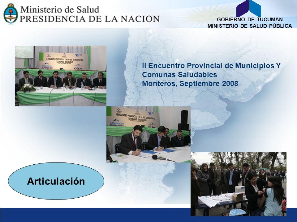 II Encuentro Provincial de Municipios Y Comunas Saludables