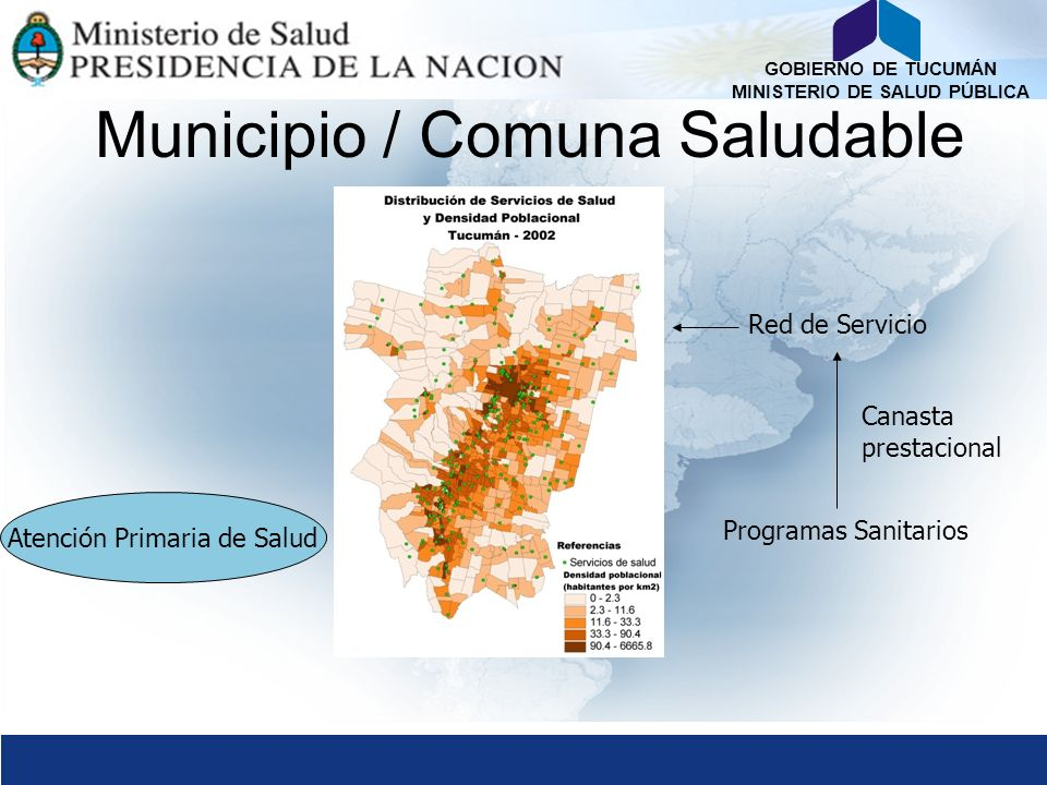 Municipio / Comuna Saludable