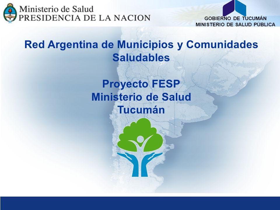 Red Argentina de Municipios y Comunidades Saludables