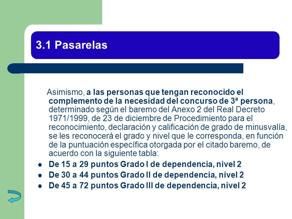 3.1 Pasarelas