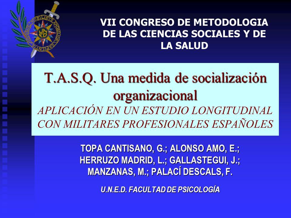 VII CONGRESO DE METODOLOGIA DE LAS CIENCIAS SOCIALES Y DE LA SALUD