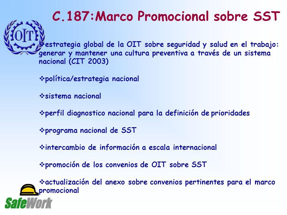 C.187:Marco Promocional sobre SST